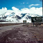 Leaving Wyoming - Trip to Craters of the Moon, April 1975