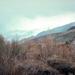 Salmon River north of Challis Idaho - Trip to Craters of the Moon, April 1975