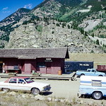 Railroad station, Silver Plume, CO - August 1980